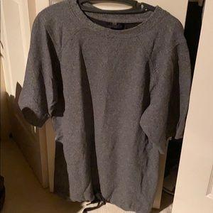 lululemon shirt sleeve sweatshirt with drawstring